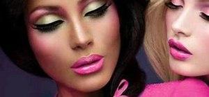 Create a Barbie Loves MAC makeup look with MakeupGeek