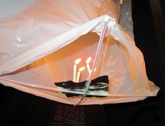 Elementary Sputnik Satellites: How to Make Trash Bag Hot Air Balloons