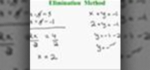 Solve systems of equations in algebra