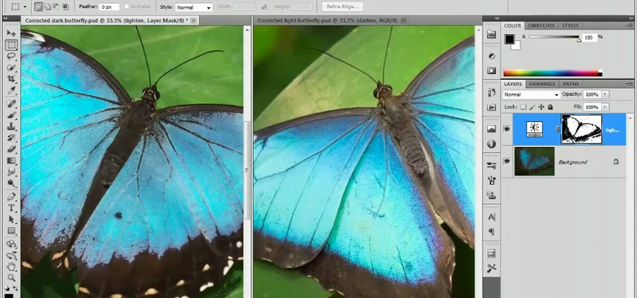 how to use layer mask in photoshop cs5