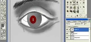 Draw and paint an eye in Photoshop