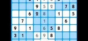 Solve a medium difficulty sudoku puzzle