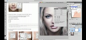 Adjust skin tones when retouching in Photoshop CS5