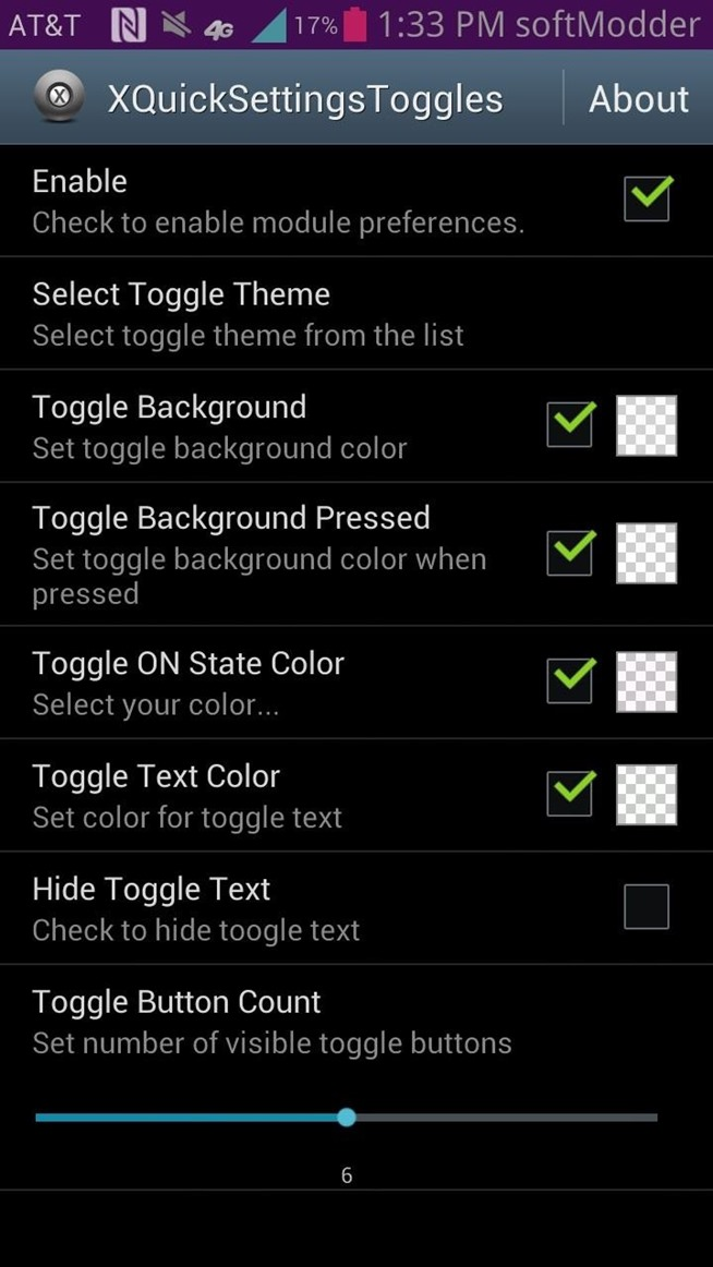 How to Customize Quick Settings Toggles with Colors