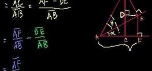 Prove cos(a+b)=(cos a)(cos b)-(sin a)(sin b) in trig