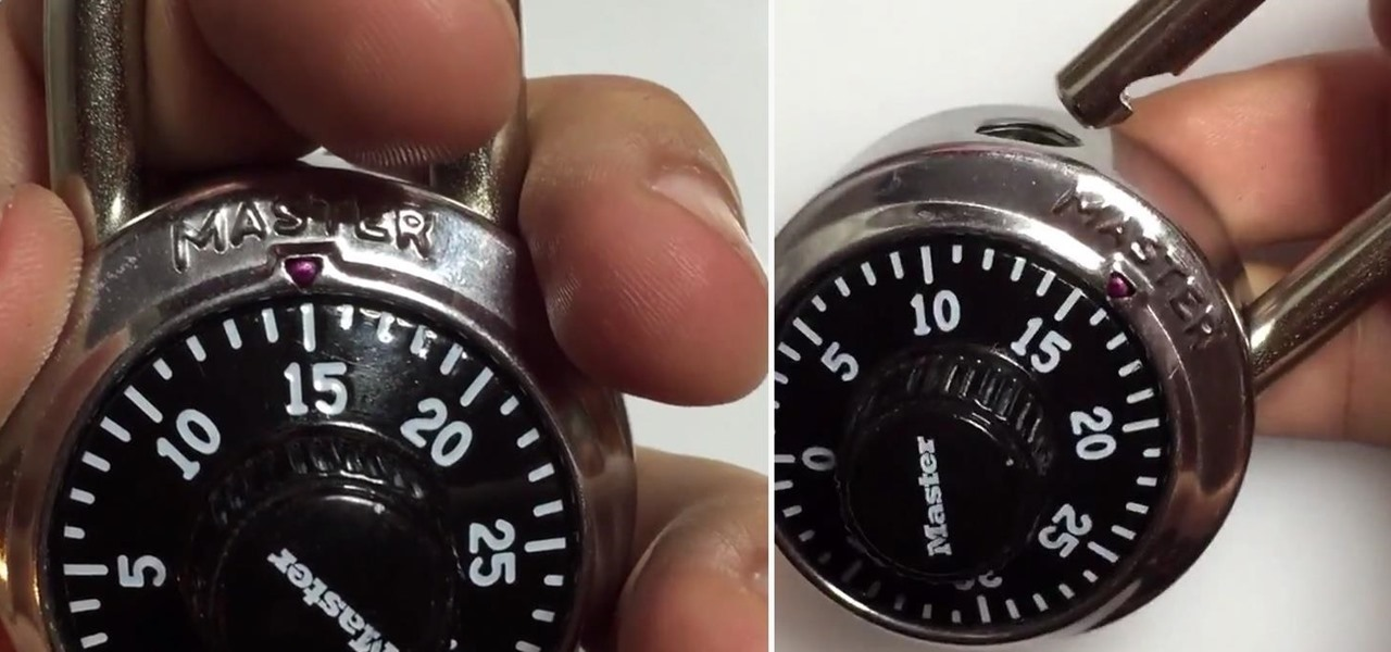 Crack Any Master Combination Lock in 8 Tries or Less Using