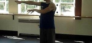 Perform hip hop dance arm movements