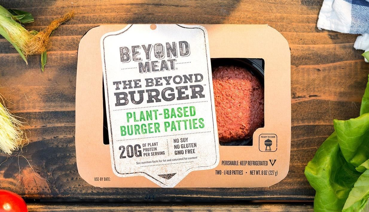 High-Tech Plant Burgers Look, Feel & Taste Just Like Real Meat