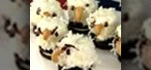 Make Oreo Bald Eagles for a 4th of July party