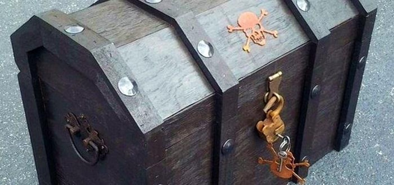 Turn an Ordinary Cooler into a Beer-Chilling Pirate Chest