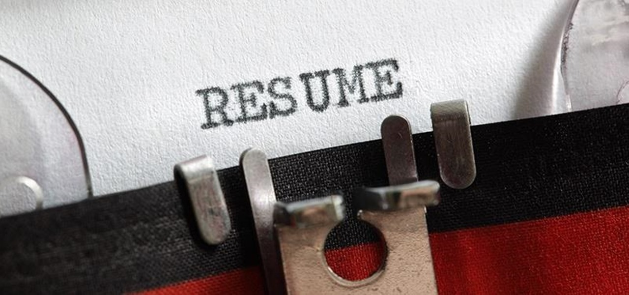 6 Surprisingly Simple Résumé Dos & Don'ts Most People Forget
