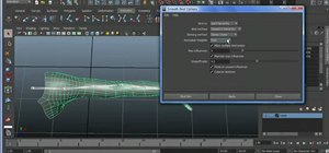 Use the Smooth Bind feature in Maya 2011