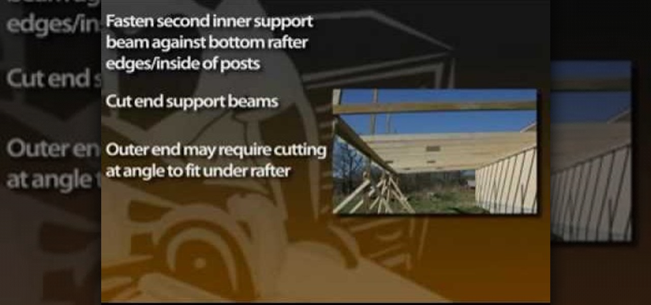 How To Build An Attached Carport Construction Repair