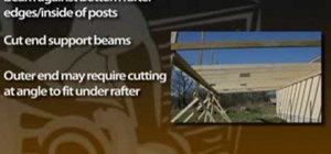 Build an attached carport