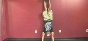 Hop on a handstand