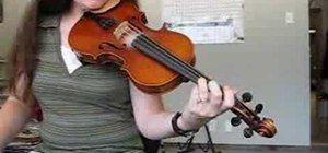 Practice arm vibrato for violin or fiddle