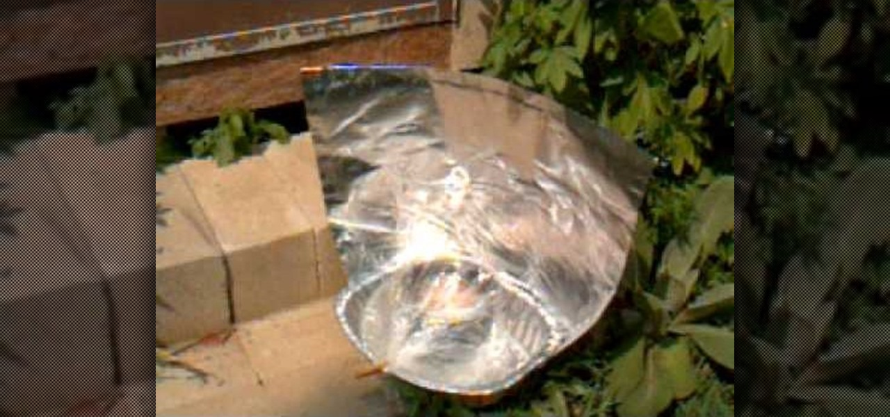 How To Make An Aluminum Roasting Pan Solar Cooker 171 Home