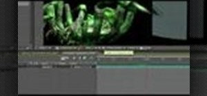 Create a giant spider in After Effects and Blender