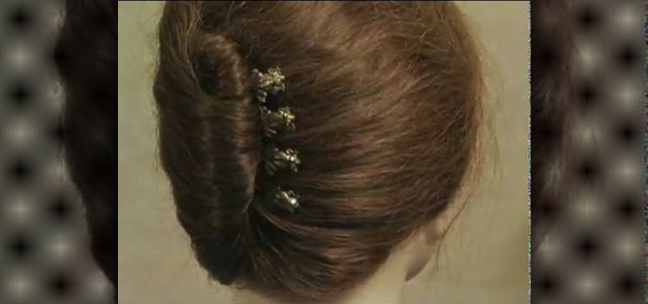How To Style Your Hair In A French Twist With A Hair Comb