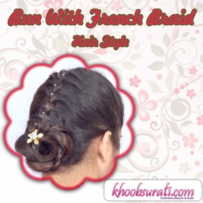 How to Bun with French Braid