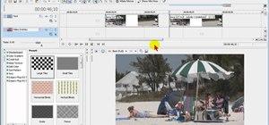 Using the video stabilizer in Sony Movie Studio HD Platinum 10
