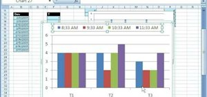 Make a chart from noncontiguous data in Excel 2007