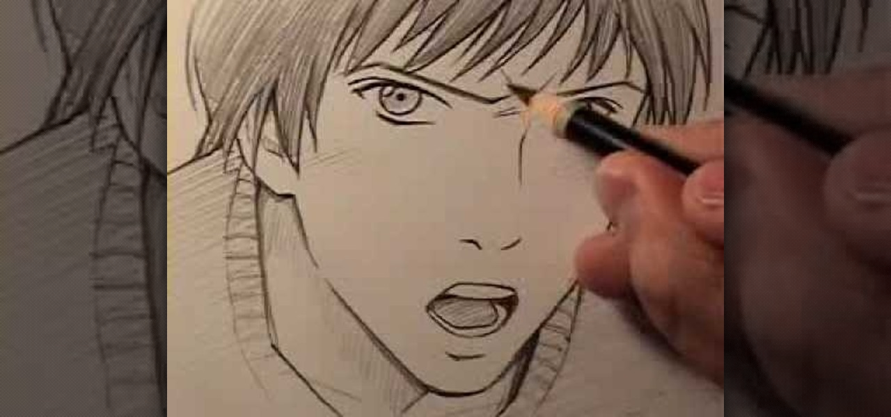 angry anime face drawing - photo #33