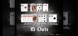 Semi-bluff in Texas Hold'em poker