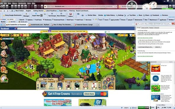 How To Stop The Weirdness Lag, Pauses Etc...In FaceBook/ Zynga Games Via Flash!