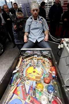 Kick Ass at Pinball (Telekinetically)
