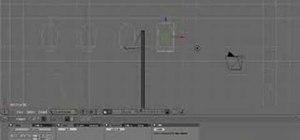 Create wind using Blender 3D modeling software