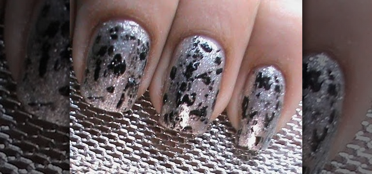 Do Grunge Acid Metal Nails