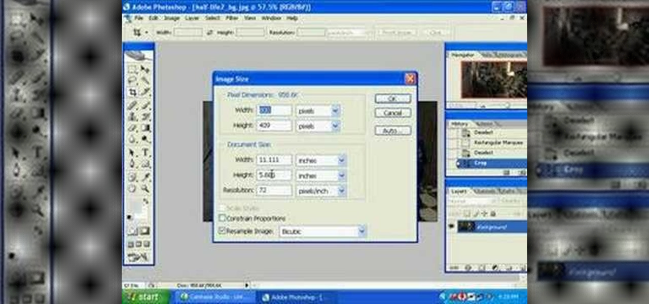 How to make photo in adobe photoshop cs2