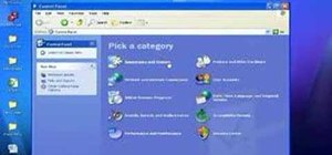 Use the Remote Desktop feature within Windows XP