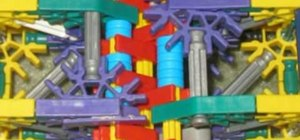 Build a mechanical tail costume prop out of K'nex