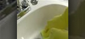 Clean your bathroom sink