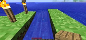 Make an awesome dock for your boat(s) in Minecraft
