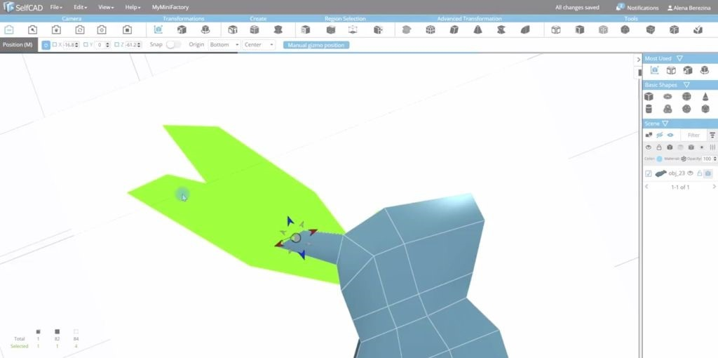 How to Design a Bunny Rabbit in SelfCAD