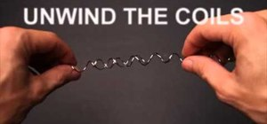 Create a cool illusion with two twisted wires