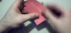 Fold an origami bracelet