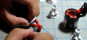 Paint blood angels for warhammer base red