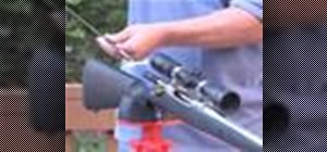 Properly clean a standard rifle