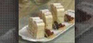Make Viennese cardinal slice