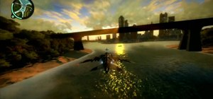 Unlock the Bridge Limbo achievement in Just Cause 2