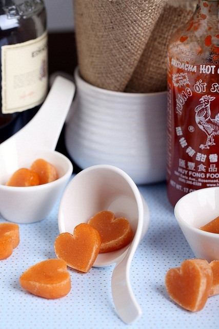 Spice Up Your Valentine's Day with These DIY Heart-Shaped Whiskey and Hot Sauce Hard Candies