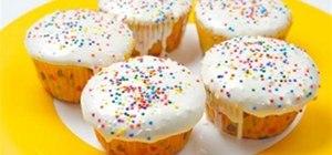 Birthday Funfetti Cupcakes