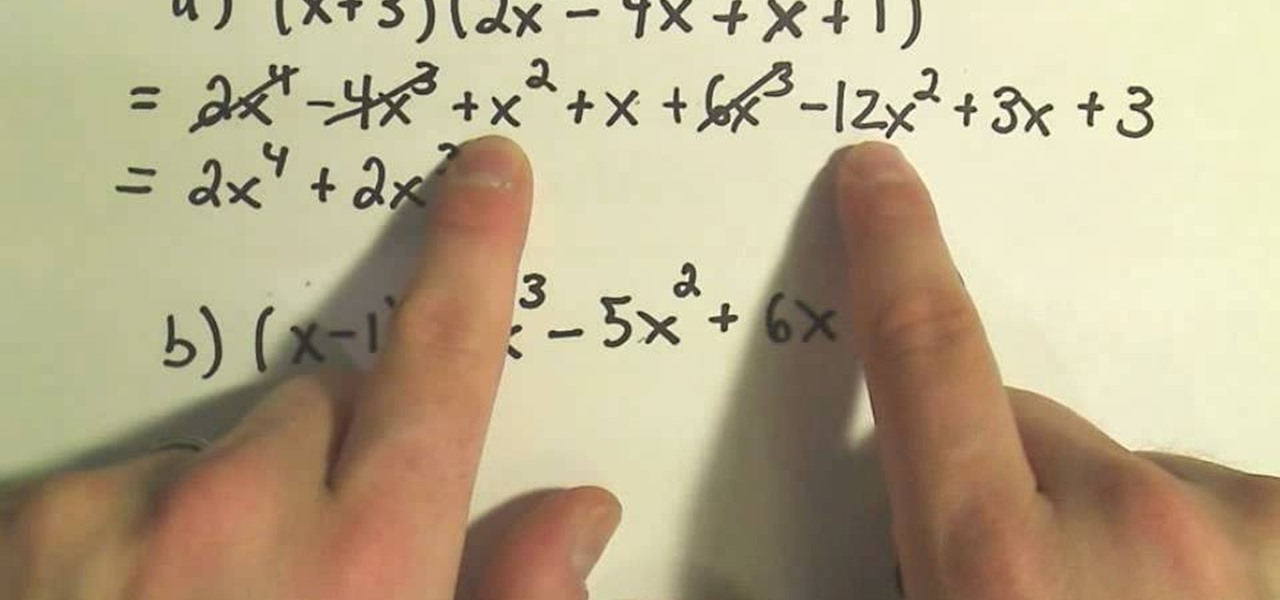 How to Multiply complex polynomials in algebra « Math :: WonderHowTo
