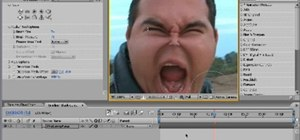 Create a demon face warp effect in After Effects