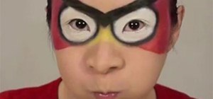 Apply Red Angry Birds Makeup for a Halloween Costume